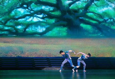 contemporary: Contemporary dancers Editorial