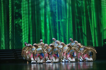 stage props: Dancers performing on stage
