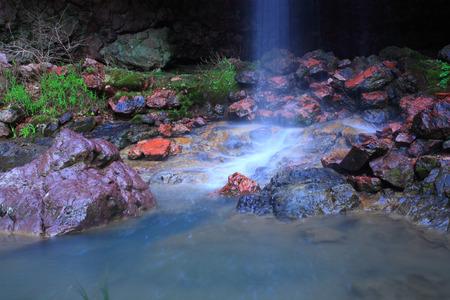 yan: Waterfall in Bo Gu Yan, Ningbo