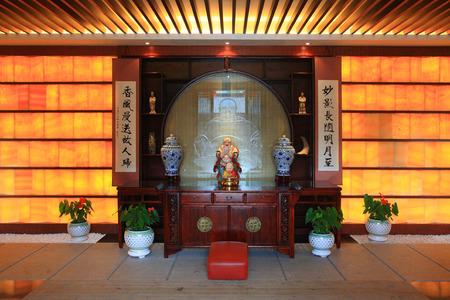 zen interior: Interior of a restaurant