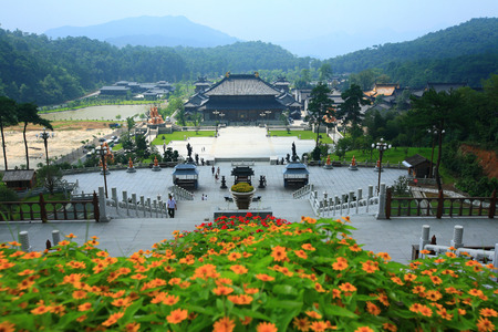 maitreya: Scenic area inside the Maitreya Sanctuary