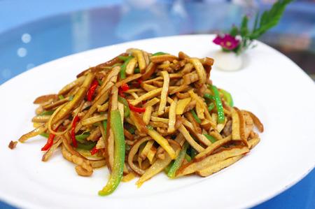 beancurd: Stir-fried beancurd