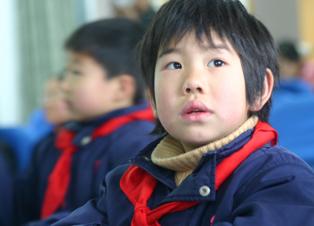 pioneers: A boy from Young Pioneers of China