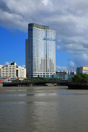hotel building: Building of Shangri-La Hotel