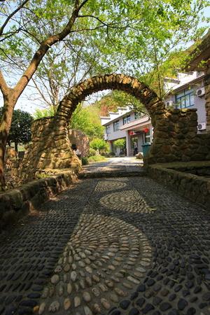 archway: Archway at San Lu Tan Farm