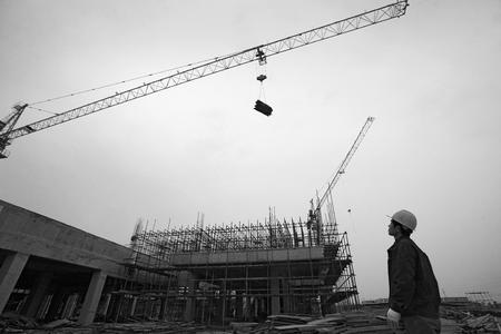 materiales de construccion: Gr�a de elevaci�n de materiales de construcci�n