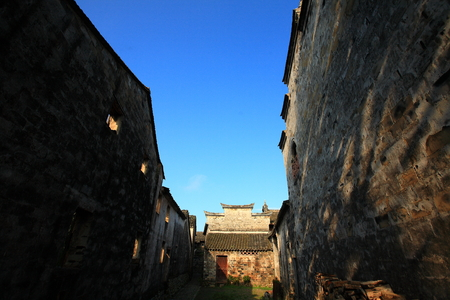folkways: An alley in an old town