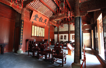 olden day: Traditional Chinese living room Editorial