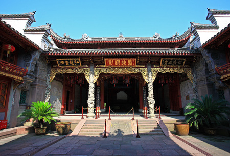 signage outdoor: Traditional chinese building structure Editorial