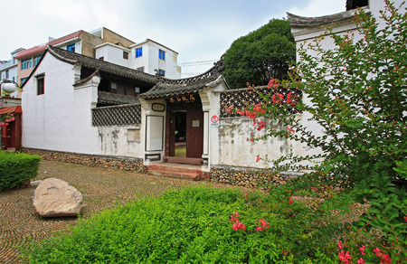 rou: Exterior view of Rou Shis Former Residence
