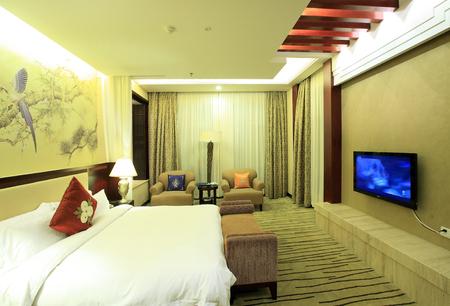 hotel bedroom: Hotel bedroom