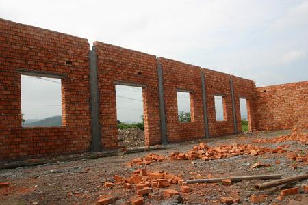 unfinished building: Unfinished building