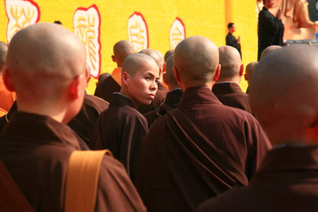 maitreya: A group of monks