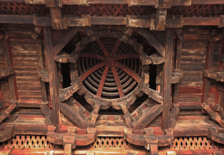 roof structure: Roof structure of the Baoguo temple