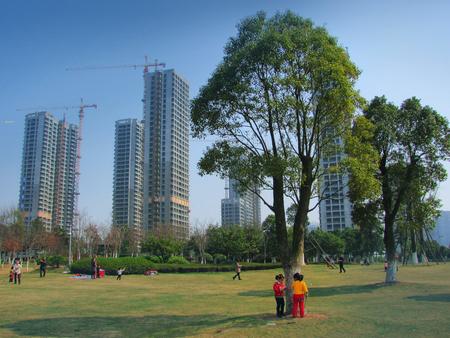 actividades recreativas: Las actividades recreativas en el parque Yinzhou