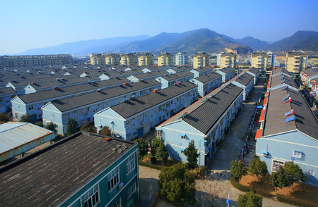 tree linked: Houses in Hengjie town community