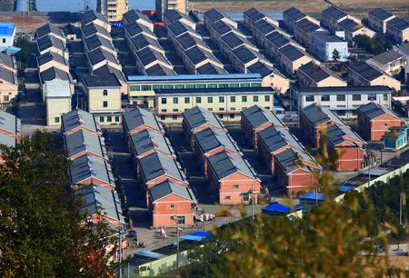 community people: Houses and buildings in Hengjie town community