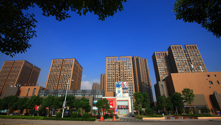 no1: Commercial street beside Yinzhou Huamao institutions NO.1