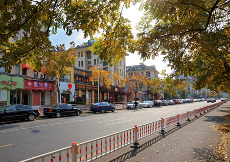 Shop lots in Yinzhou district Editorial