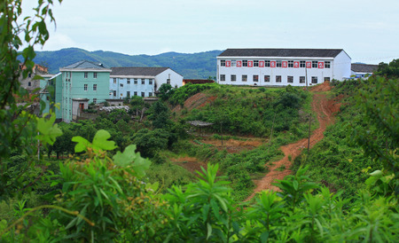 rural area: Houses at rural area in Hengxi, Ningbo