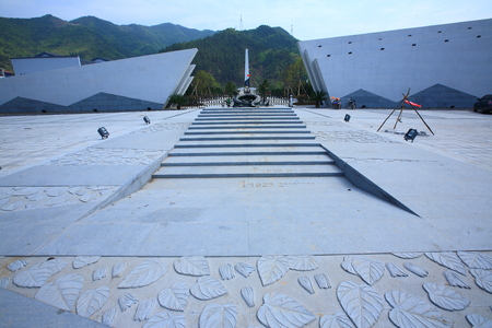 monument historical monument: Stairways to historical monument in Yinzhou