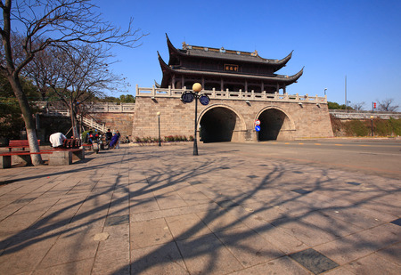 seawall: Zhenhai Houhai Seawall