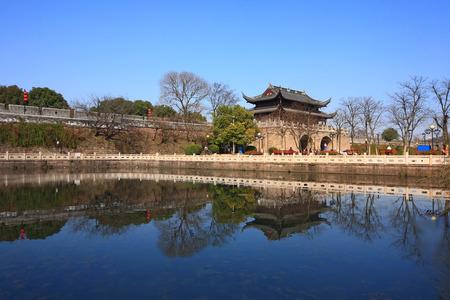 seawall: View of Zhenhai Houhai Seawall Editorial