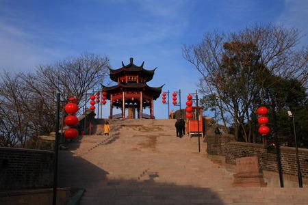 seawall: Pavilion on the Zhenhai Houhai Seawall