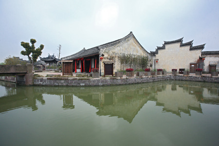 chinese courtyard: Chinese traditional house at Zheng seventeen courtyard