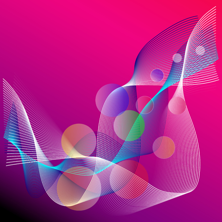 bolls: Background abstract lines and bolls