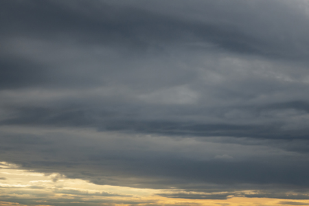 sky in cloudy weather