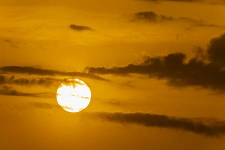 sunrise and the sun Foto de archivo