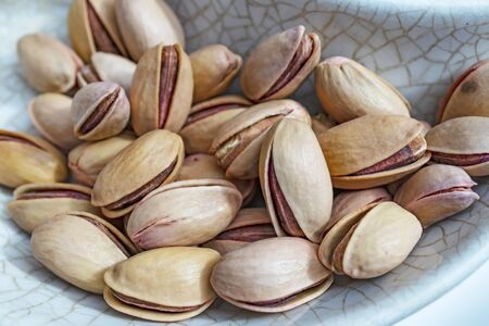 close up shelled pistachios Stok Fotoğraf - 127605962