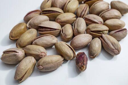 close up shelled pistachios Stok Fotoğraf - 127605974