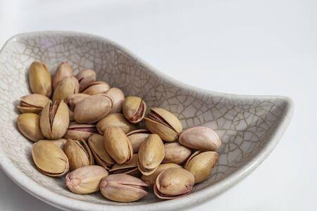 close up shelled pistachios Stok Fotoğraf - 127605990