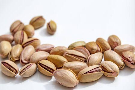close up shelled pistachios Stok Fotoğraf - 127606090