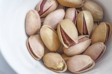 close up shelled pistachios Stok Fotoğraf - 127606099