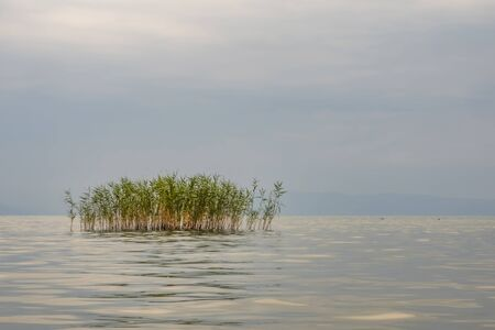 landscape from iznik lake