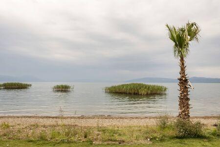 landscape from iznik lake Stok Fotoğraf - 128064747