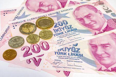 two hundred turkish liras