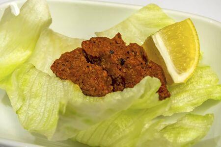 traditional turkish cig kofte