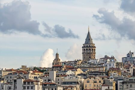 Galata tower, the touristic symbol of istanbul