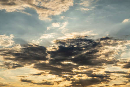 sunrise and sunset sky with clouds Stok Fotoğraf