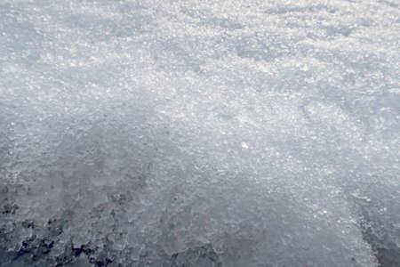 snow in winter and snowdrift in nature Banco de Imagens - 163893580