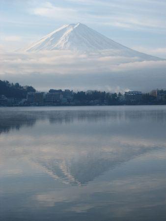 Japanese Mt. Fuji panoram  photo