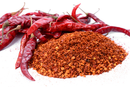 red chilly: chilly powder with red chilly
