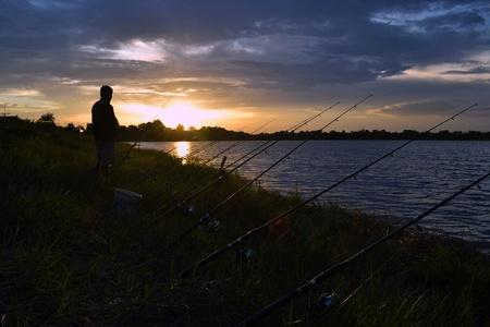 Fishing till dawn photo