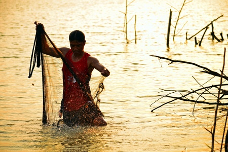 Fishing of Asia photo
