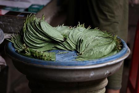 betel: The betel leaves