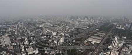 metropolis: The metropolis cityscape Stock Photo